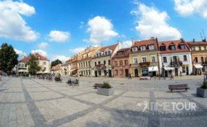 Wycieczka szkolna do Sandomierza - Rynek