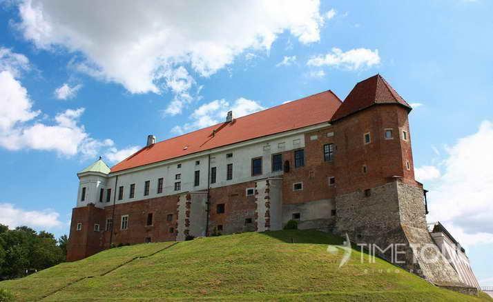 Wycieczka szkolna do Sandomierza - zamek