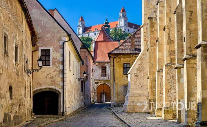 Wycieczka szkolna do Słowację - Bratysława, Stare Miasto i Zamek