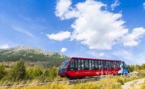 Wycieczka szkolna w Tatry Słowackie - kolejka na Hrebeniok