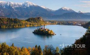 Wycieczka szkolna do Słowenii - Jezioro Bled