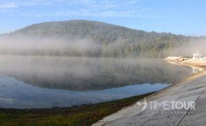 Wycieczka szkolna nad Solinę - tama i jezioro