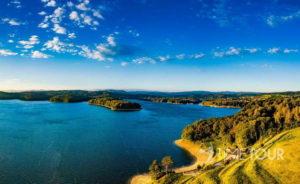 Wycieczka szkolna w Bieszczady i na Solinę - Jezioro Solińskie