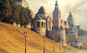 Wycieczka szkolna do Szczecina - Wały Chrobrego