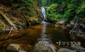 Wycieczka szkolna do Szklarskiej Poręby - wodospad Szklarki