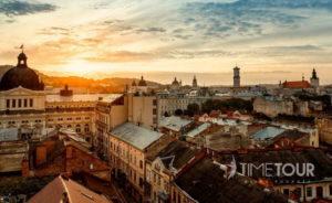 Wycieczka szkolna do Lwowa - panorama miasta