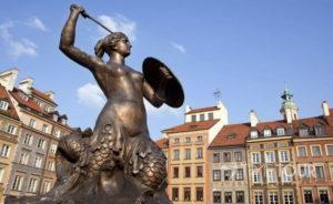 Wycieczka szkolna do Warszawy - Rynek i Syrenka