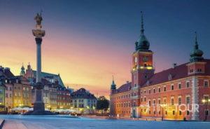 Wycieczka szkolna do Warszawy - Plac Zamkowy