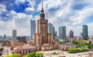 Wycieczka szkolna do Warszawy - Pałac Kultury i Nauki