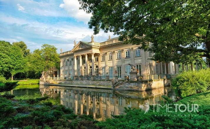 Wycieczka szkolna do Warszawy - Pałac na Wodzie i Park Łazienkowski