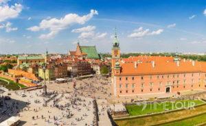 Wycieczka szkolna do Warszawy - Plac Zamkowy i Zamek Królewski
