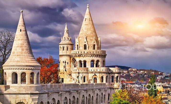 Wycieczka szkolna do Budapesztu - Baszta Rybacka w Budzie
