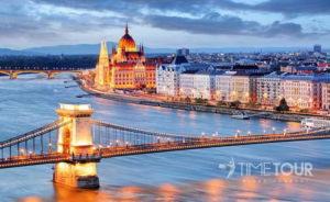 Wycieczka szkolna do Budapesztu - Most Łańcuchowy i Parlament
