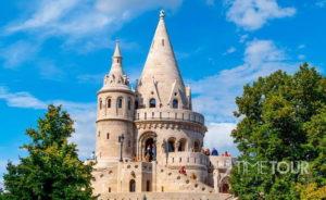 Wycieczka szkolna do Budapesztu - Baszta Rybacka