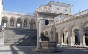 Wycieczka szkolna do Włoch - Monte Cassino