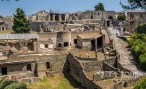 Wycieczka szkolna do Włoch - Pompeje strefa archeologiczna