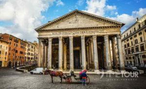 Wycieczka szkolna do Włoch - Panteon w Rzymie