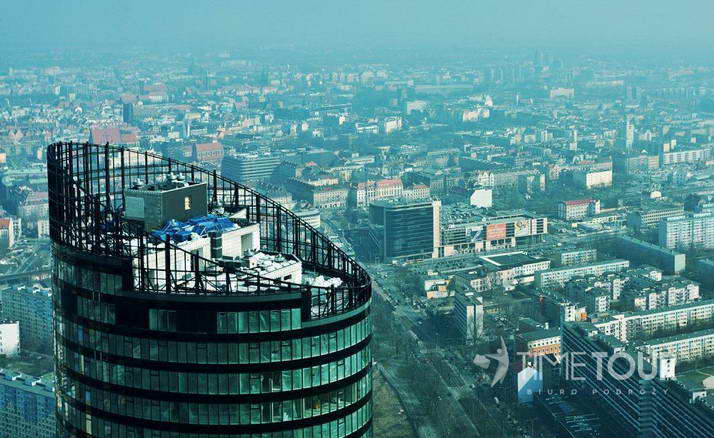 Wycieczka szkolna do Wrocławia - Sky Tower