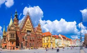 Wycieczka szkolna do Wrocławia - ratusz