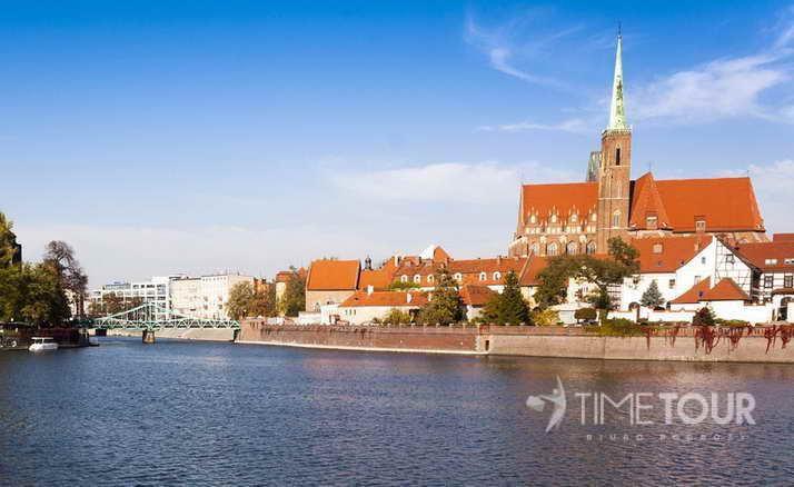 Wycieczka szkolna do Wrocławia - ostrów tumski i katedra