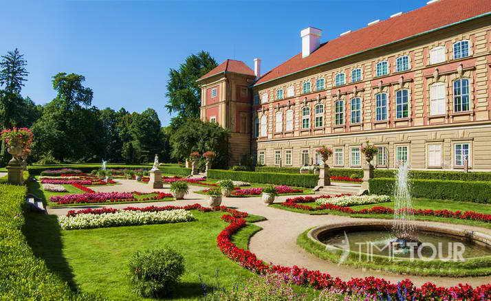 Wycieczka szkolna do Łańcuta - Zamek w Łańcucie i ogrody