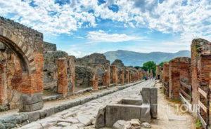 Wycieczka szkolna do Włoch - Pompeje ruiny miasta