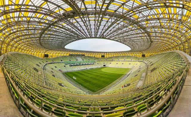 Wycieczka szkolna do Gdańska - stadion Arena panorama