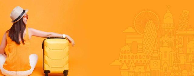 TIMETOUR Biuro Podróży - wycieczki, yellow